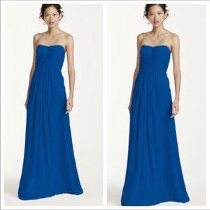 David's Bridal Strapless Maxi Dress 16